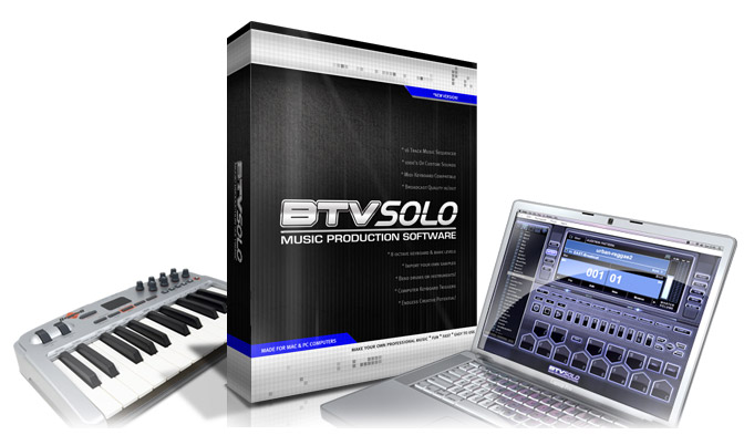 btv solo music production software free download