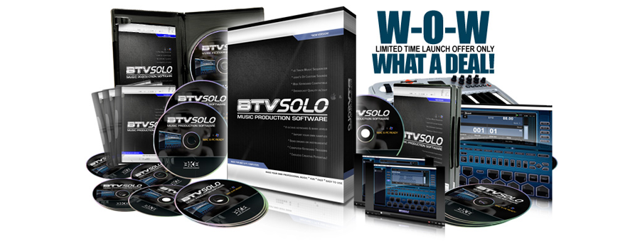 BTV SOLO BEAT MAKING SOFTWARE: LAUNCH!